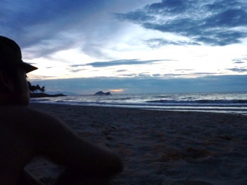 Da beach, Damai