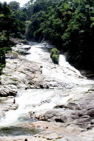 Ended up at Chamang Falls, Bentong
