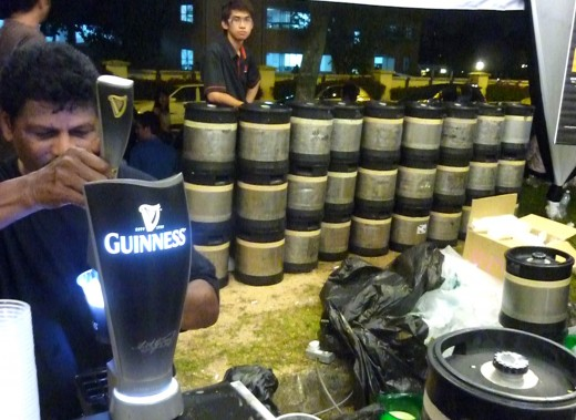 Dats how many barrels we raped at Sid's TTDI on Arthur's Day