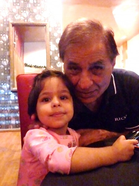 My niece Trish n my ol man