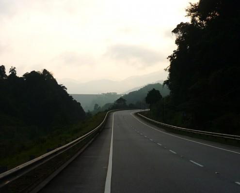 Da road