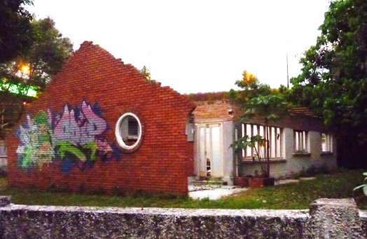 On d way to my ride came across this cool ex-house
