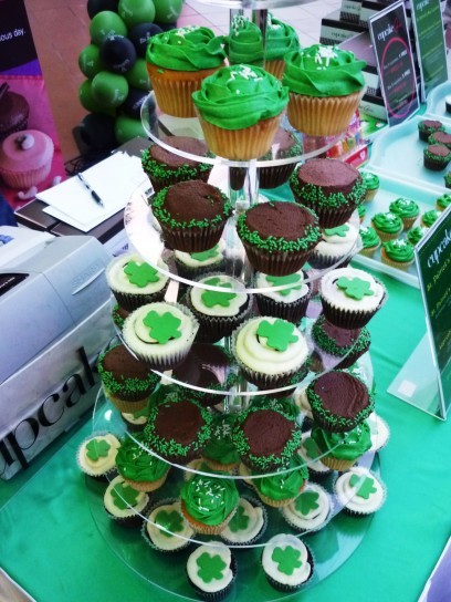 They look awesome these cupcakes, some Guinness-infused. Shd have had some, but on a diet