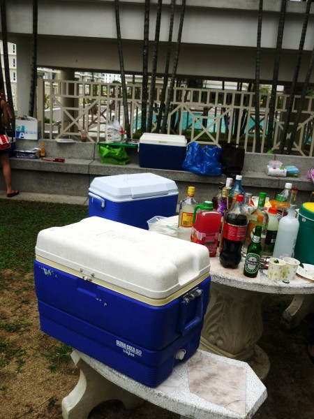 Coolers were adequate