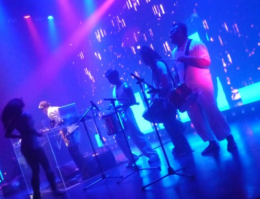 Justin n Krshna jammed along w percussions