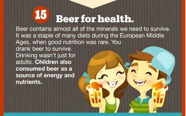Beer - not just for kiddies