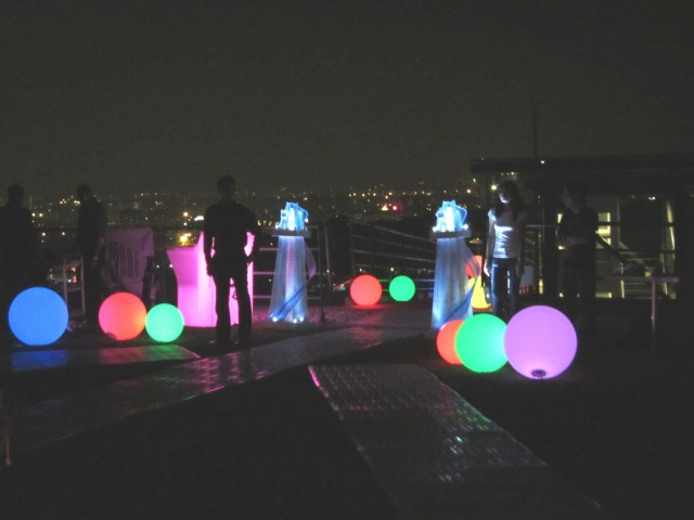 Light balls. I like