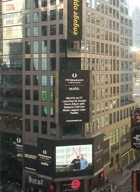 Represent! In NYC's Times Square