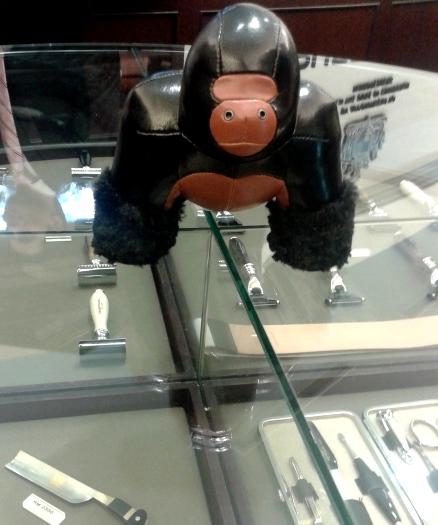 Hey Monkey-Man. Need a leg-shave?