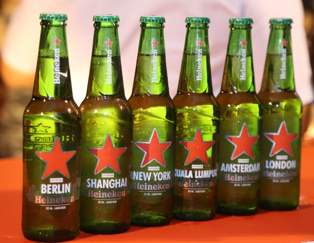New Heineken Bottles