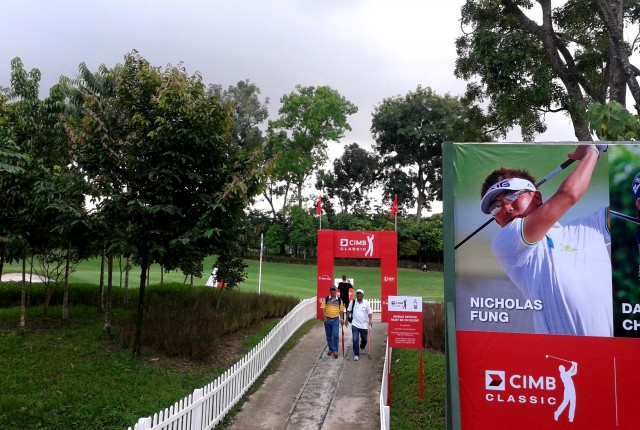 The CIMB Classic went down from Oct 30 - Nov 2 at KLGCC